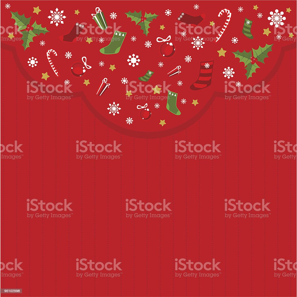 christmas card royalty-free stock vector art