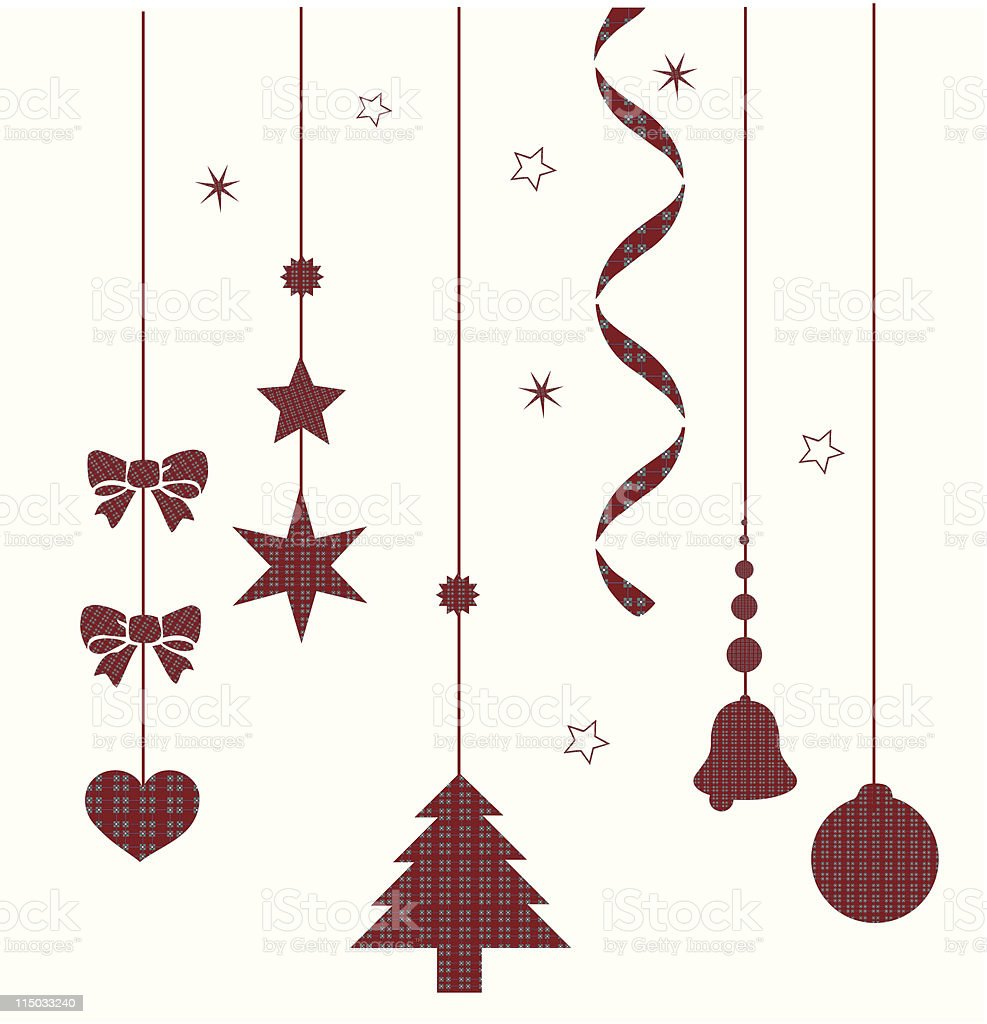 Christmas Composition vector art illustration