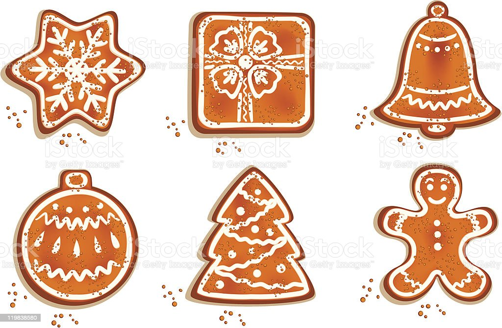 Christmas Cookie royalty-free stock vector art