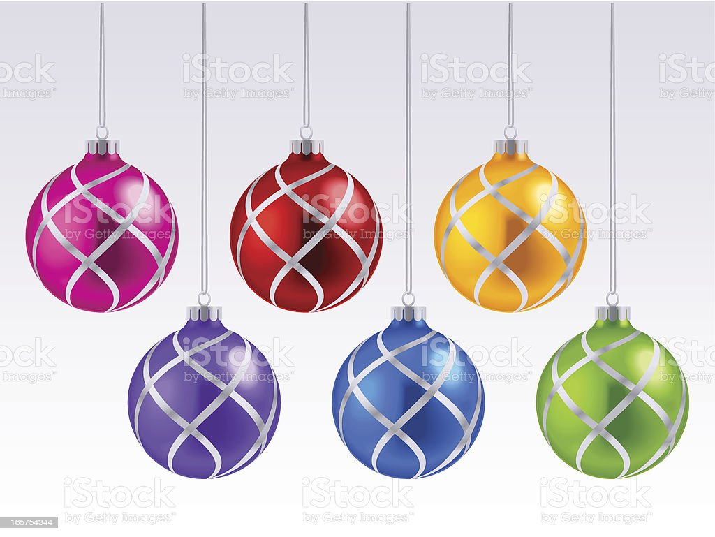 Christmas Decoration Bauble royalty-free stock vector art