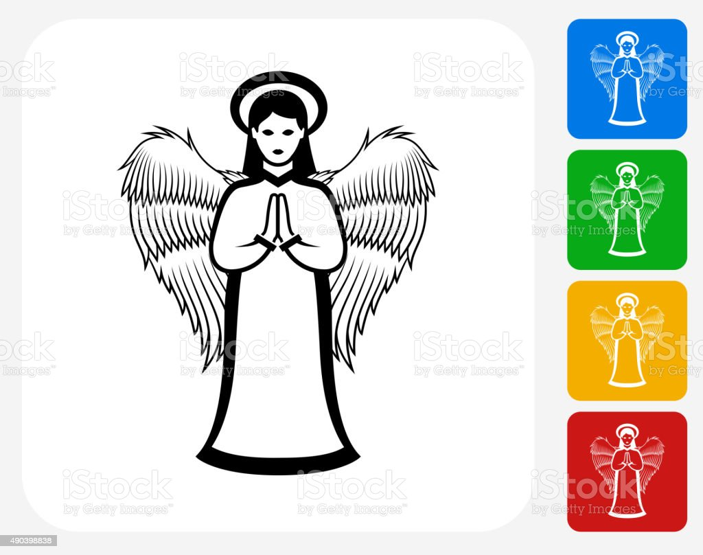 Christmas Decoration Icon Flat Graphic Design vector art illustration