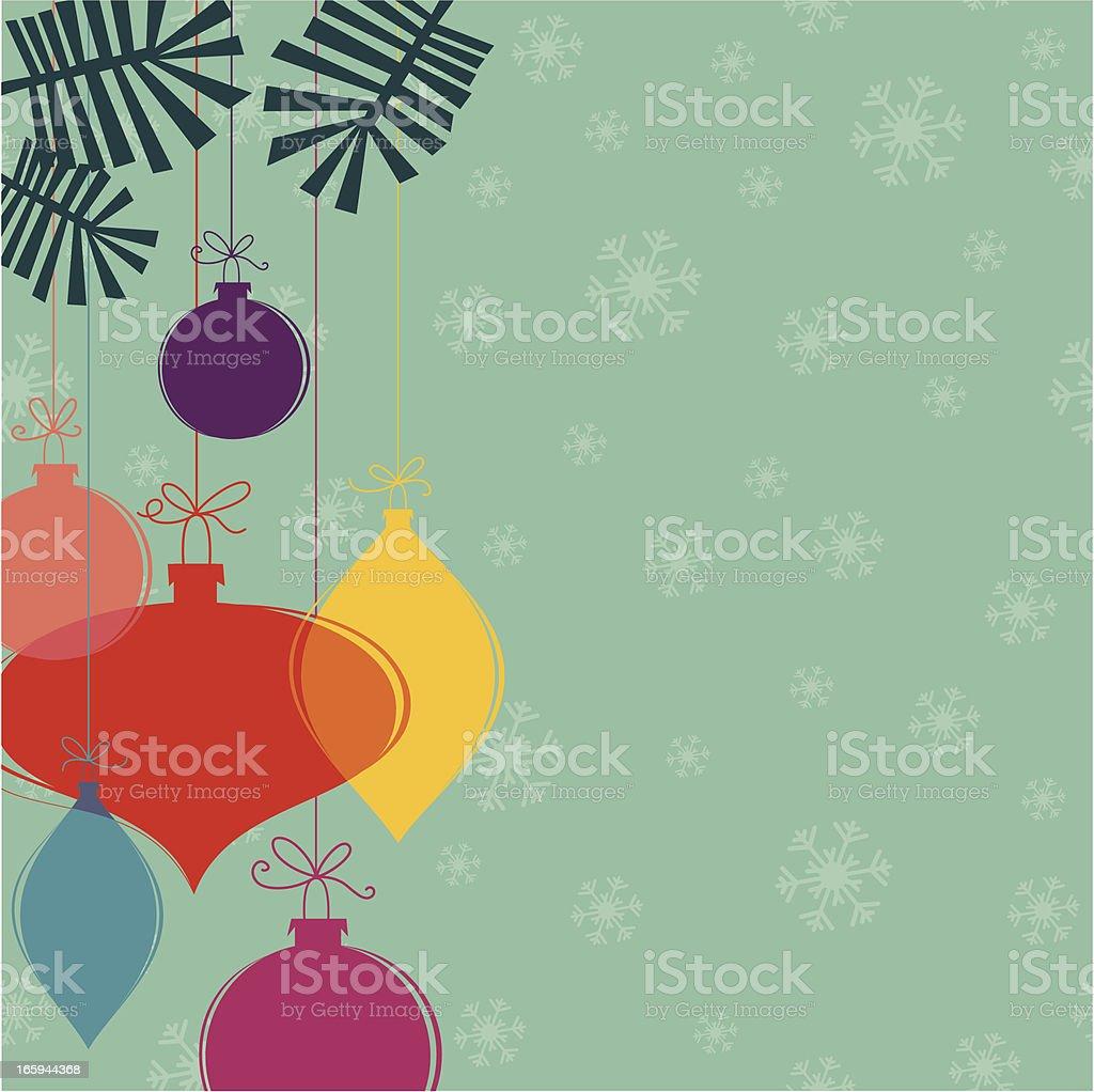 Christmas decoration set design royalty-free stock vector art
