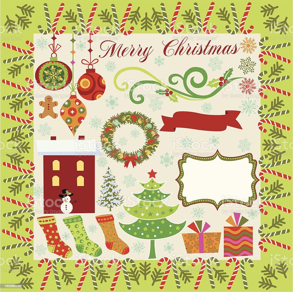 Christmas decoration . royalty-free stock vector art