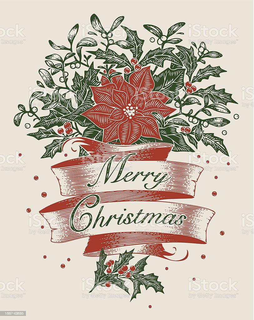 Christmas decoration royalty-free stock vector art