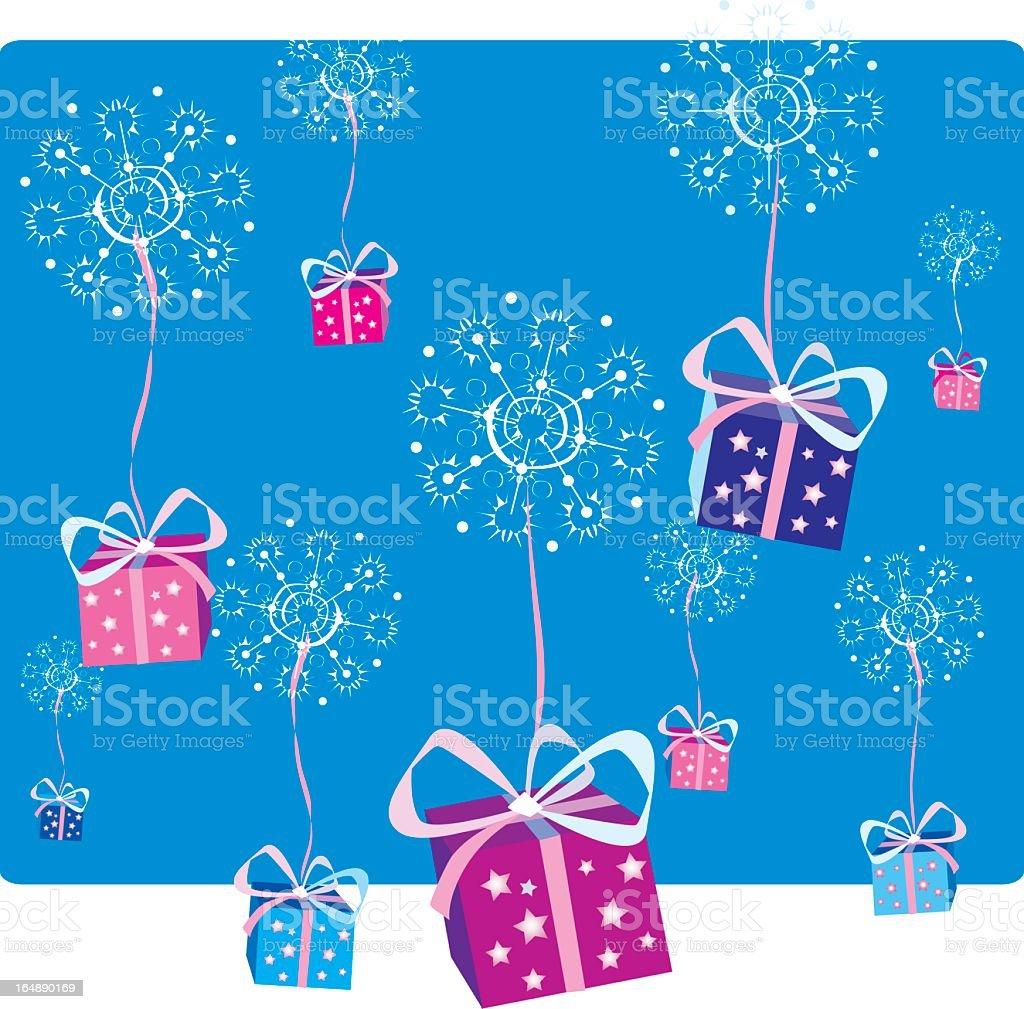 Christmas decoration2 royalty-free stock vector art
