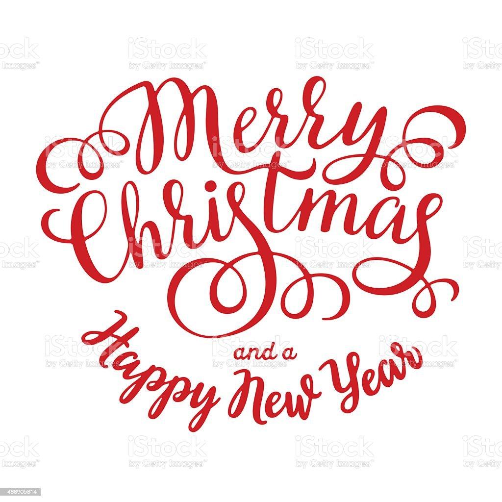 Christmas Decorations Card vector art illustration