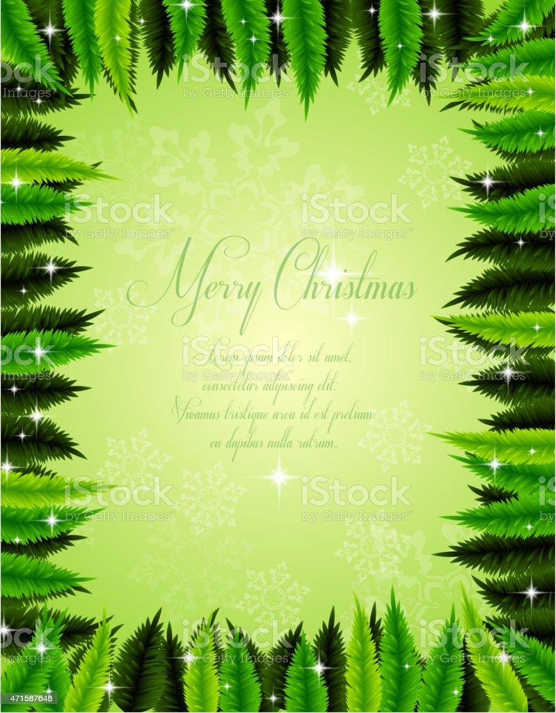 Navidad decorativo Fondo abstracto con espacio para su texto illustracion libre de derechos libre de derechos