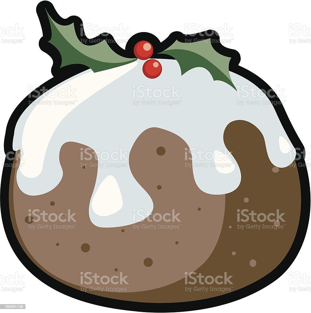 Christmas Design Element - Pudding royalty-free stock vector art