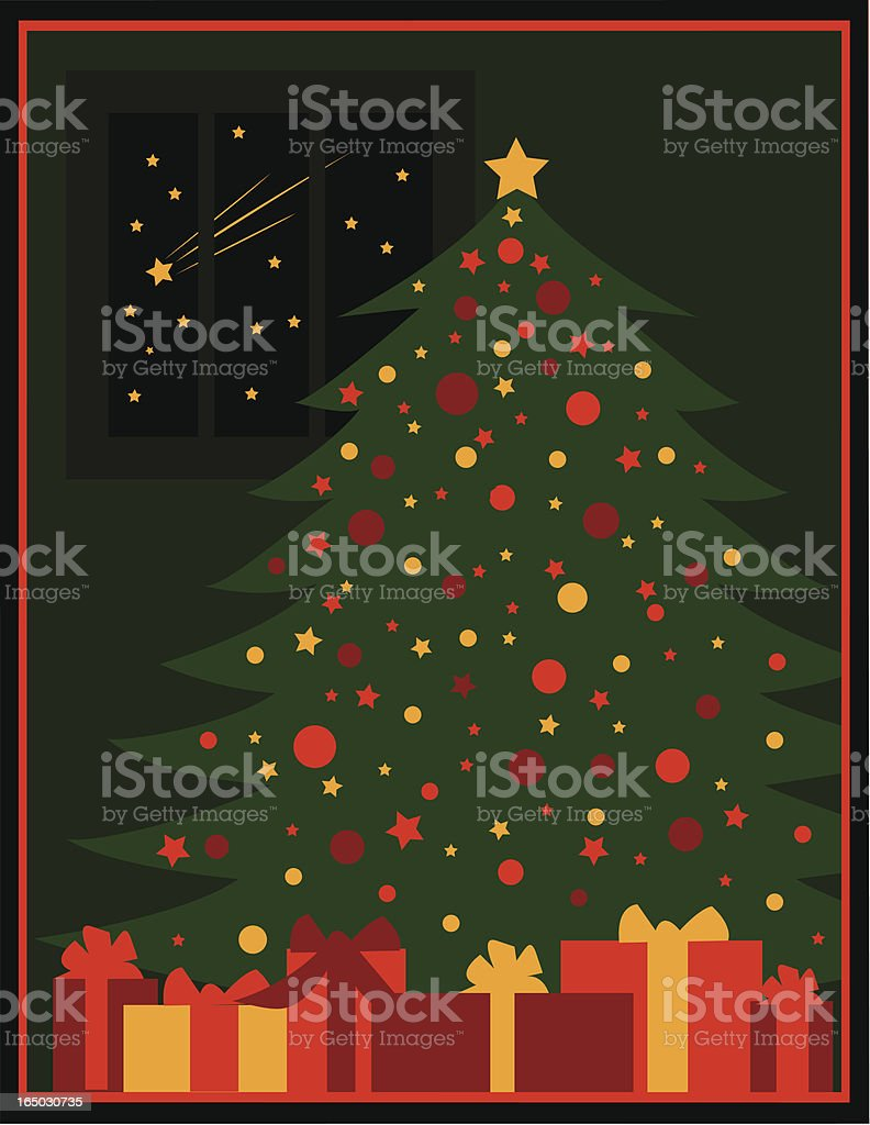 Christmas Eve royalty-free stock vector art