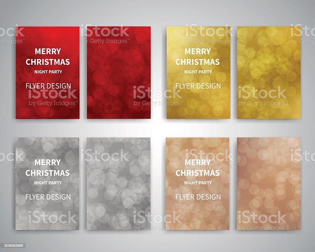 christmas flyer design templates stock vector art istock christmas flyer design templates royalty stock vector art