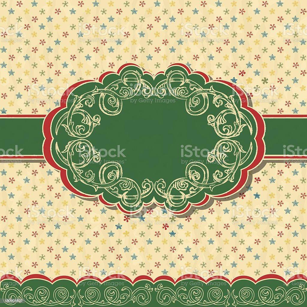 Christmas frame. Eps10 royalty-free stock vector art