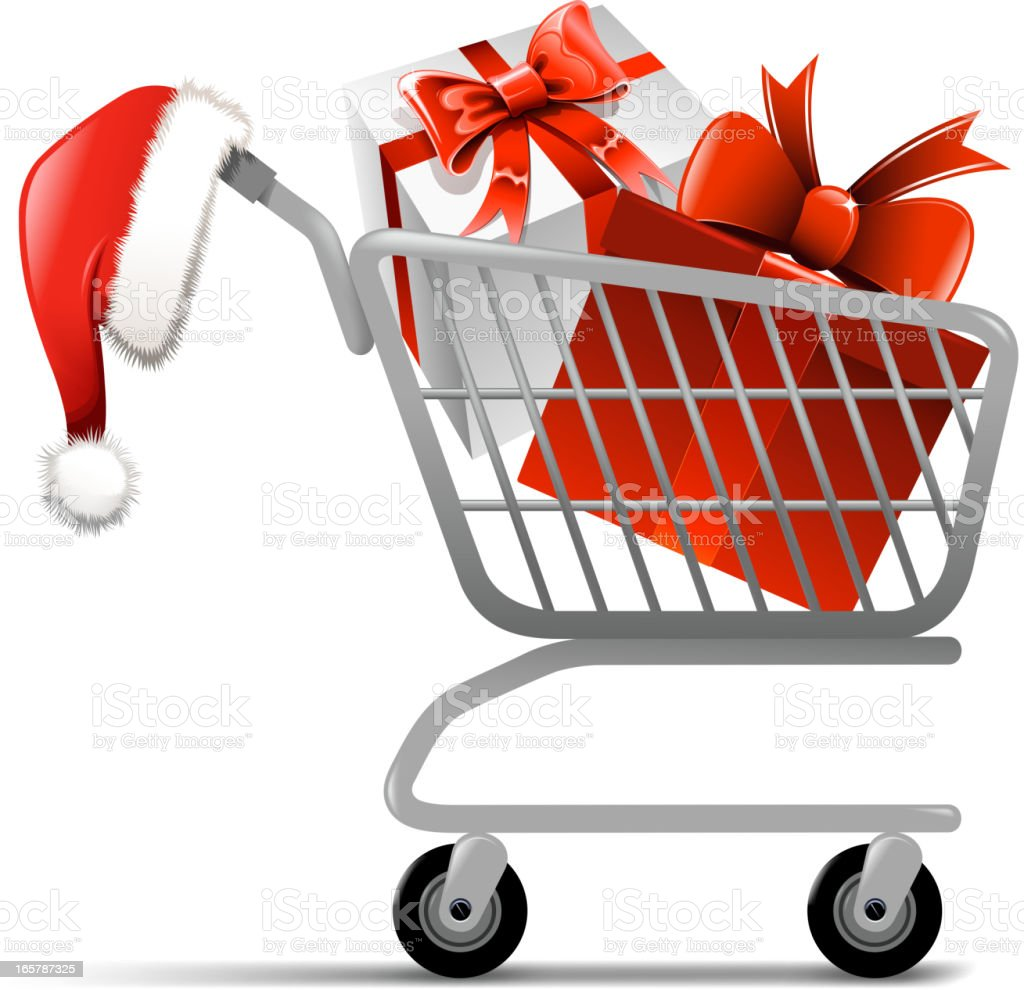 christmas gift royalty-free stock vector art
