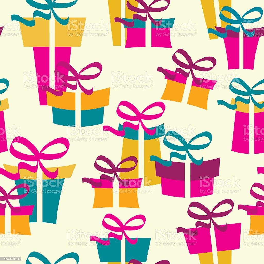 Christmas gift royalty-free stock vector art