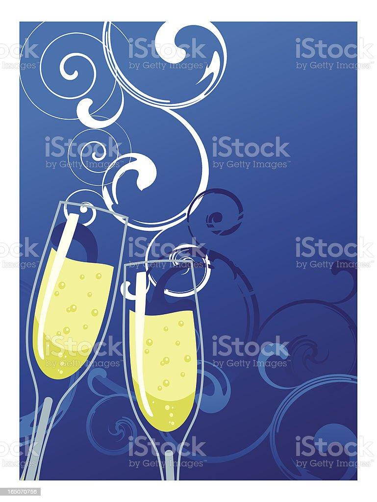 christmas glass royalty-free stock vector art