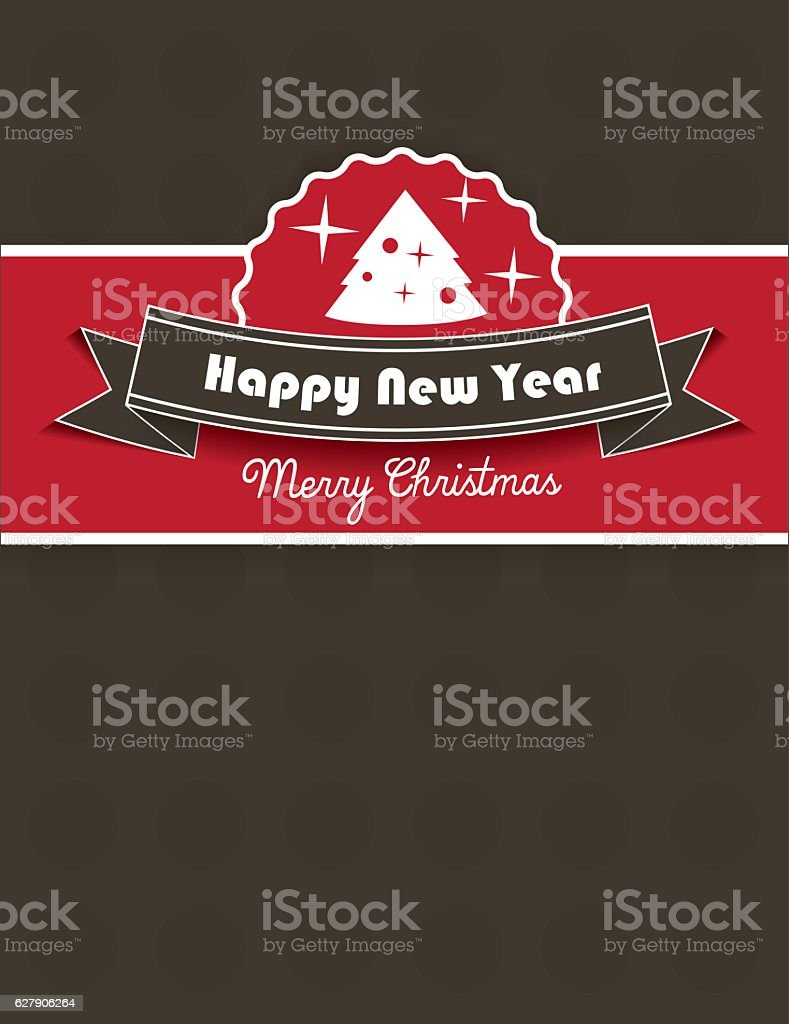 Christmas greeting card background design royalty-free stock vector art