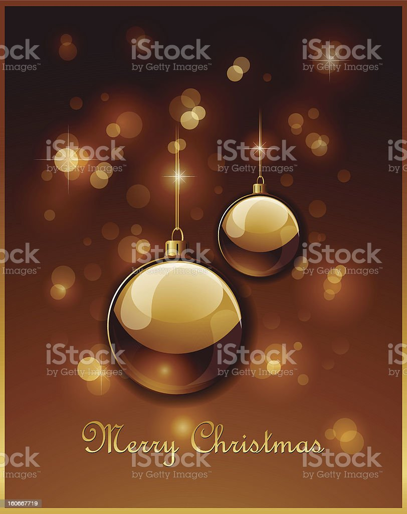 Christmas Greeting card background royalty-free stock vector art