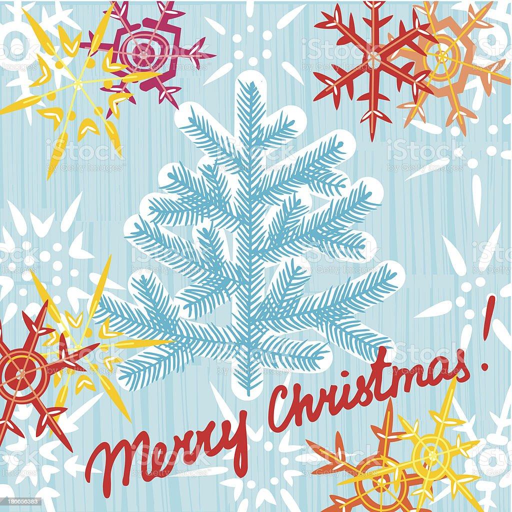 Рождественские открытки вектор 20