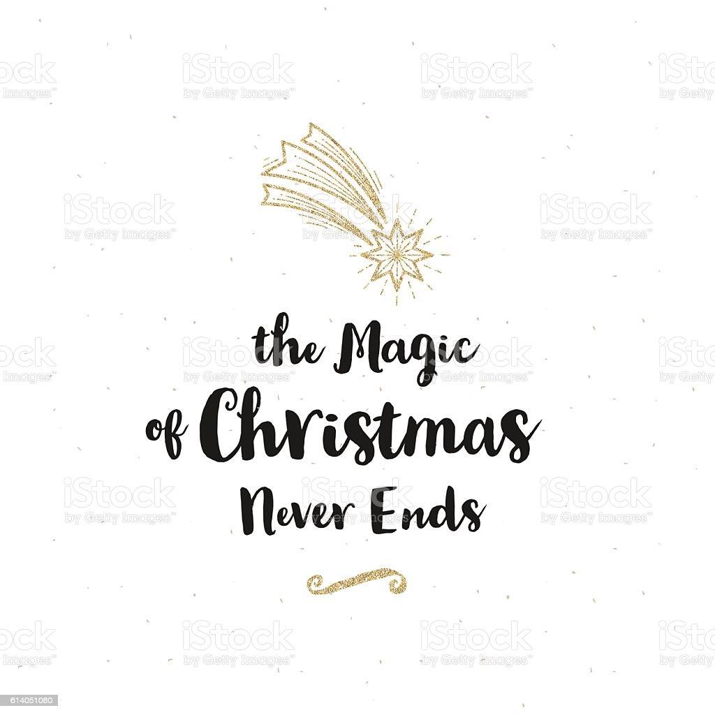 Christmas greeting illustration vector art illustration