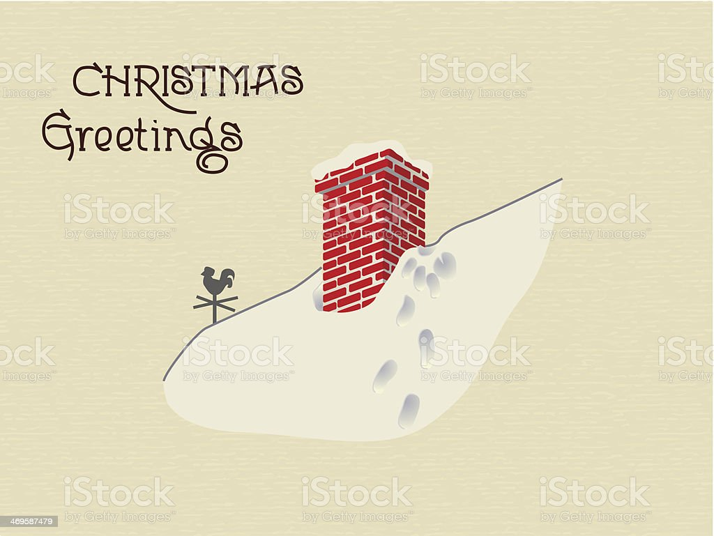 Christmas greetings background royalty-free stock vector art