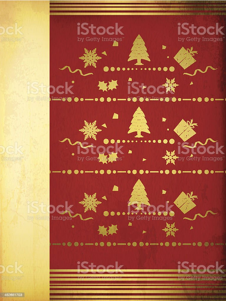 Christmas Greetings royalty-free stock vector art