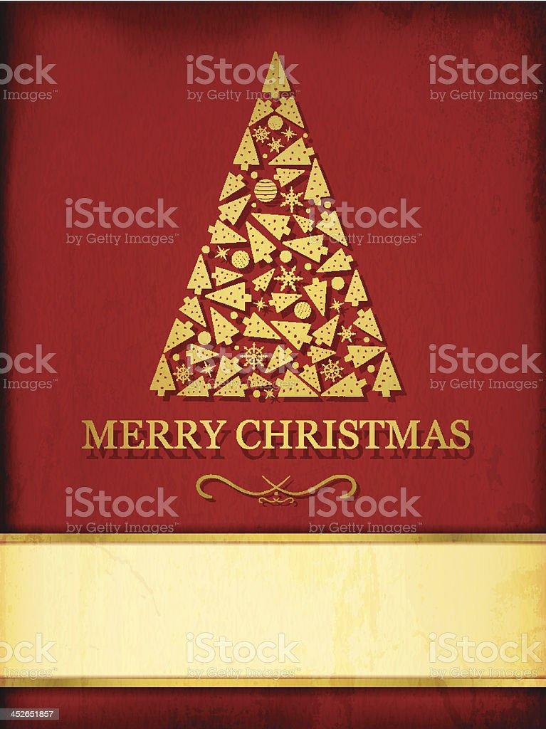 Christmas Greetings royalty-free stock vector art