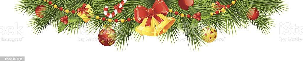 Christmas header royalty-free stock vector art