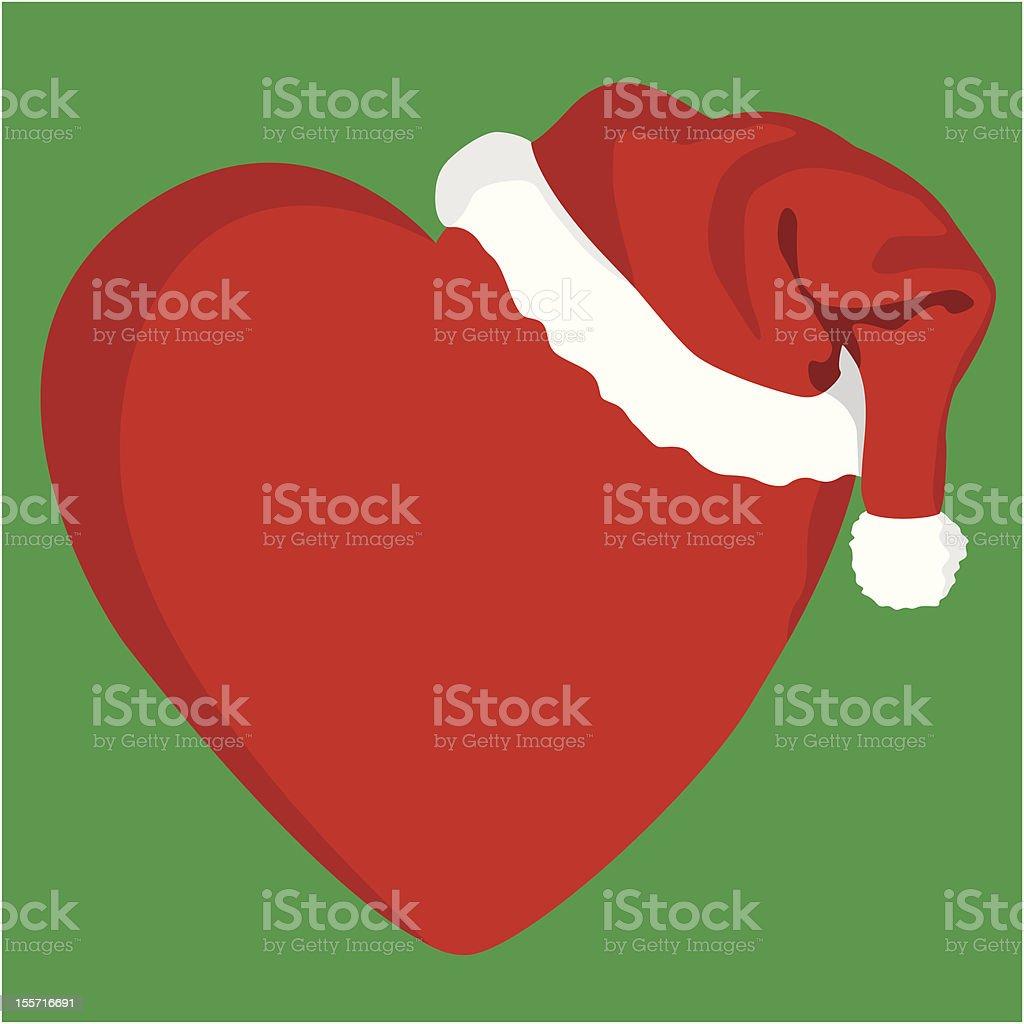 Christmas Heart royalty-free stock vector art