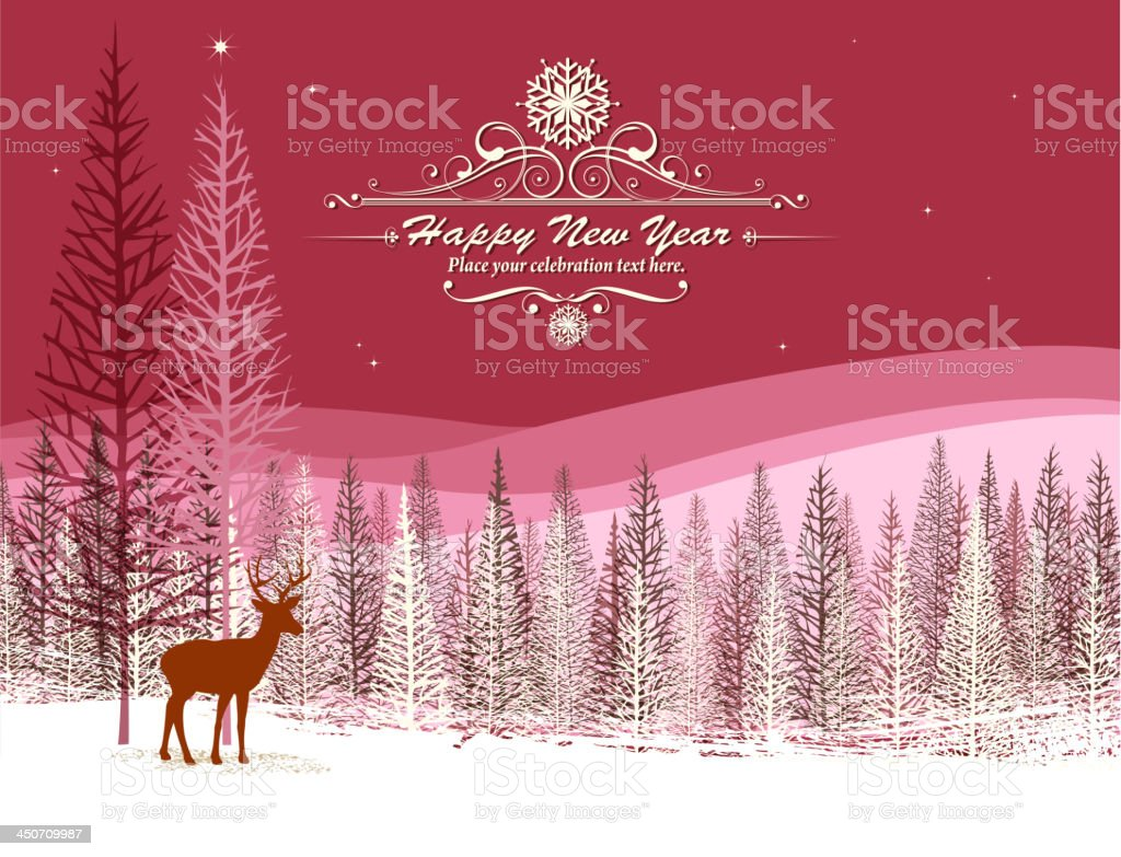 design of vector christmas holiday card.This file was recorded with...