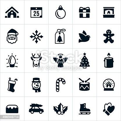 weihnachten urlaub symbole vektor illustration 496349714. Black Bedroom Furniture Sets. Home Design Ideas