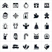 Christmas Holiday Icons
