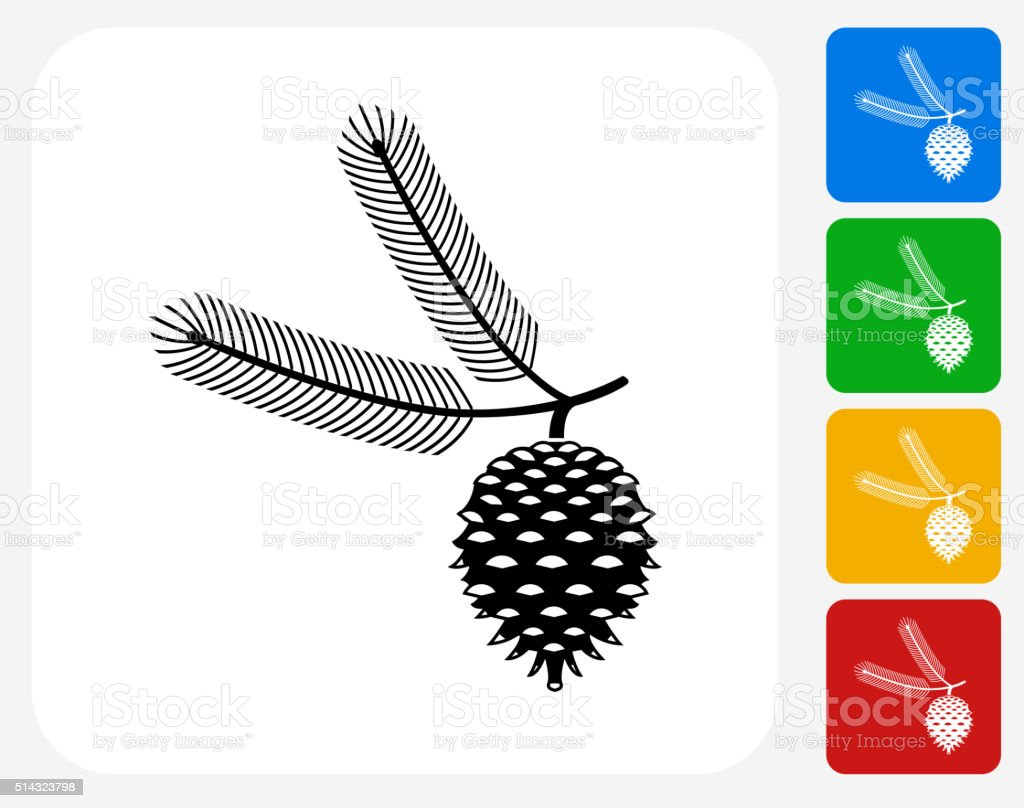 Christmas Icon Flat Graphic Design vector art illustration