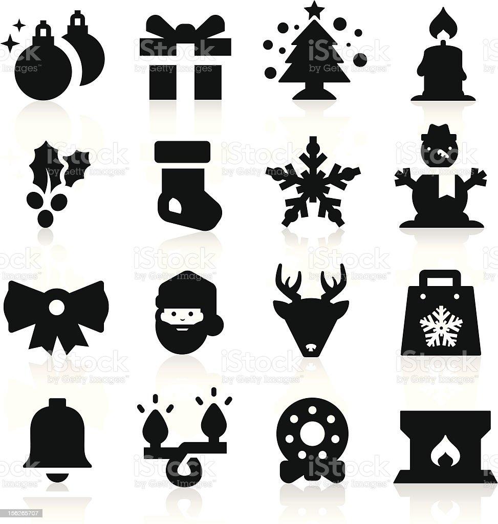 Christmas icon royalty-free stock vector art