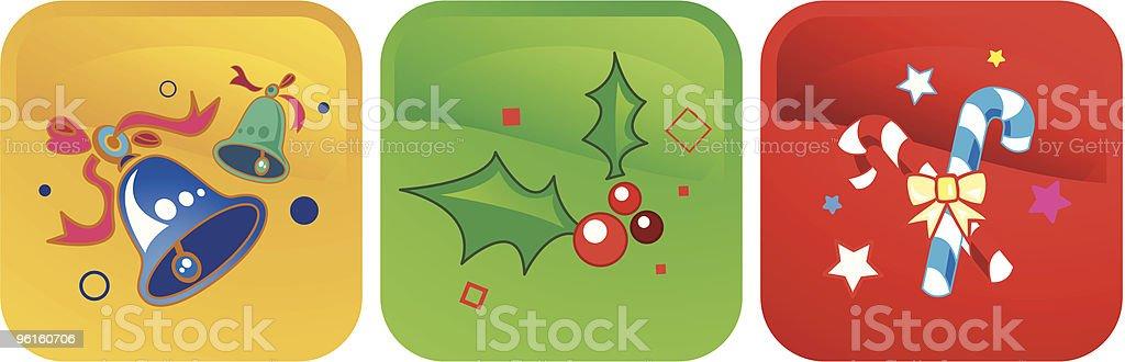 Christmas Icon vector art illustration