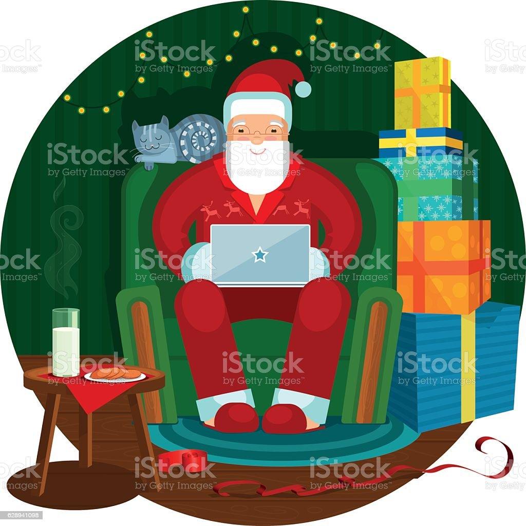 Christmas illustration vector art illustration