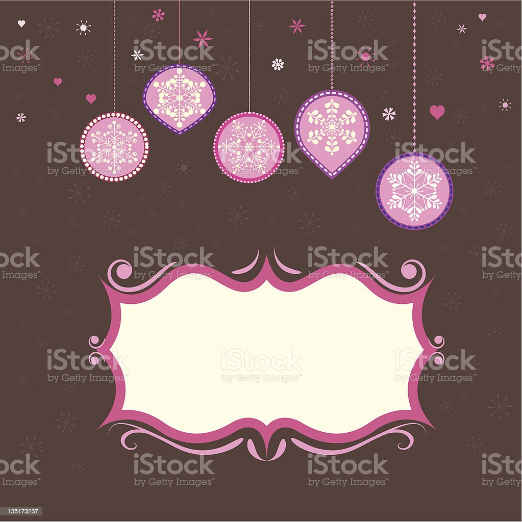 Christmas label royalty-free stock vector art
