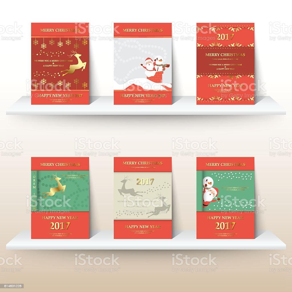 christmas layout template in a4 size design for cover stock vector christmas layout template in a4 size design for cover royalty stock vector art