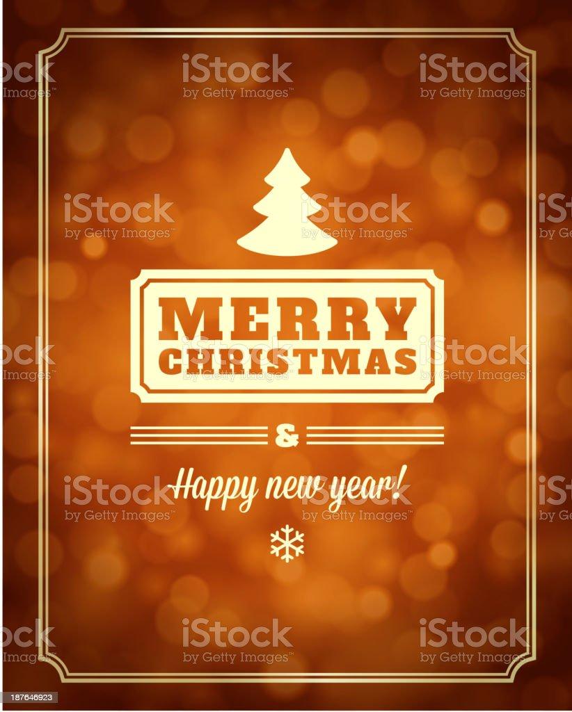 Christmas light vector background royalty-free stock vector art