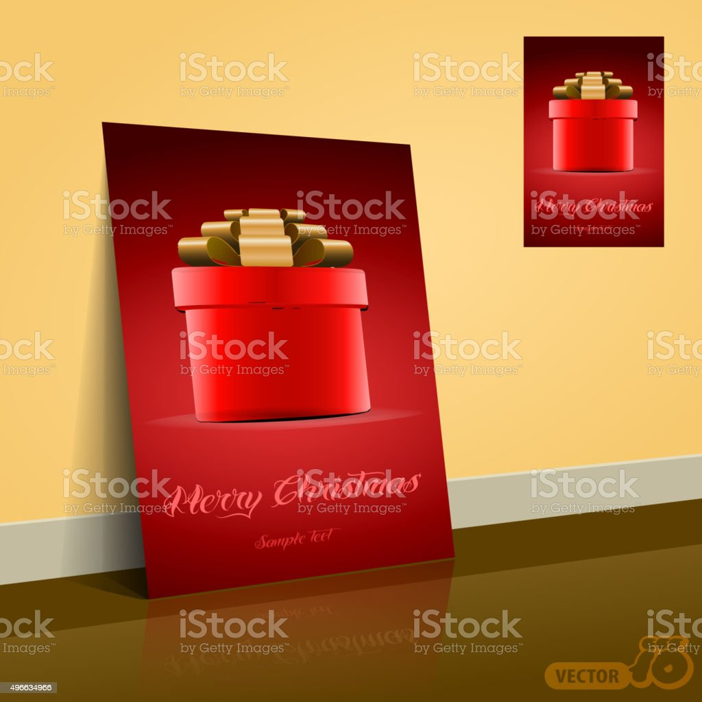 christmas or gift card template stock vector art 496634966 istock christmas or gift card template royalty stock vector art