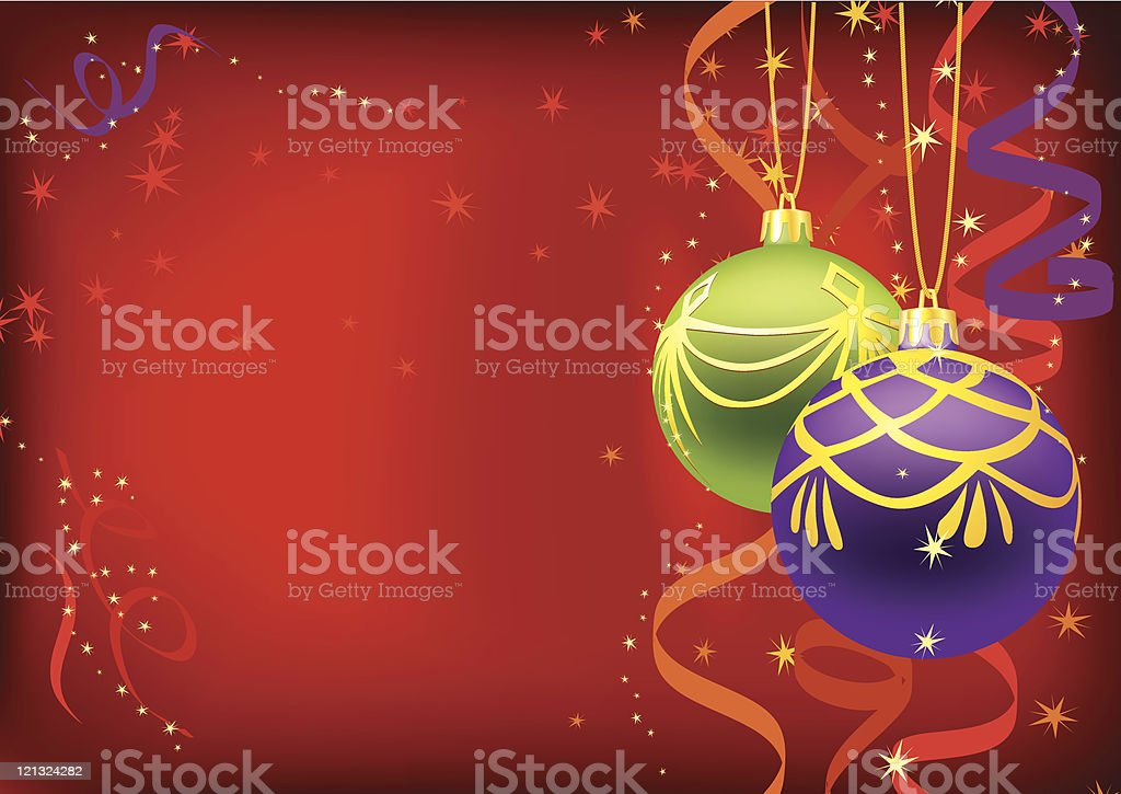 Christmas ornament royalty-free stock vector art