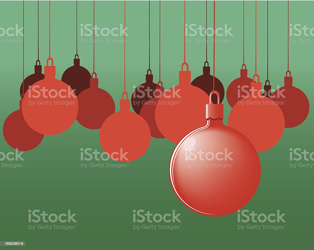Christmas Ornaments Celebration royalty-free stock vector art