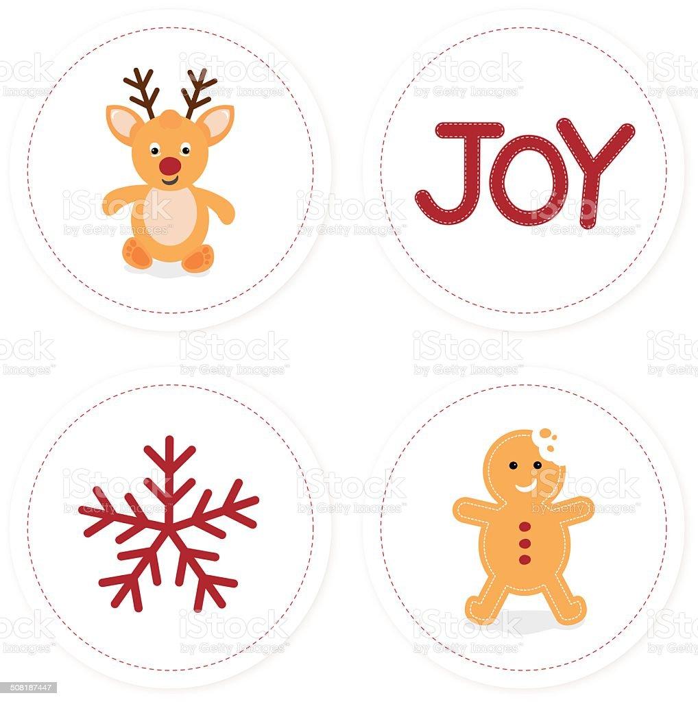 Christmas Pack royalty-free stock vector art
