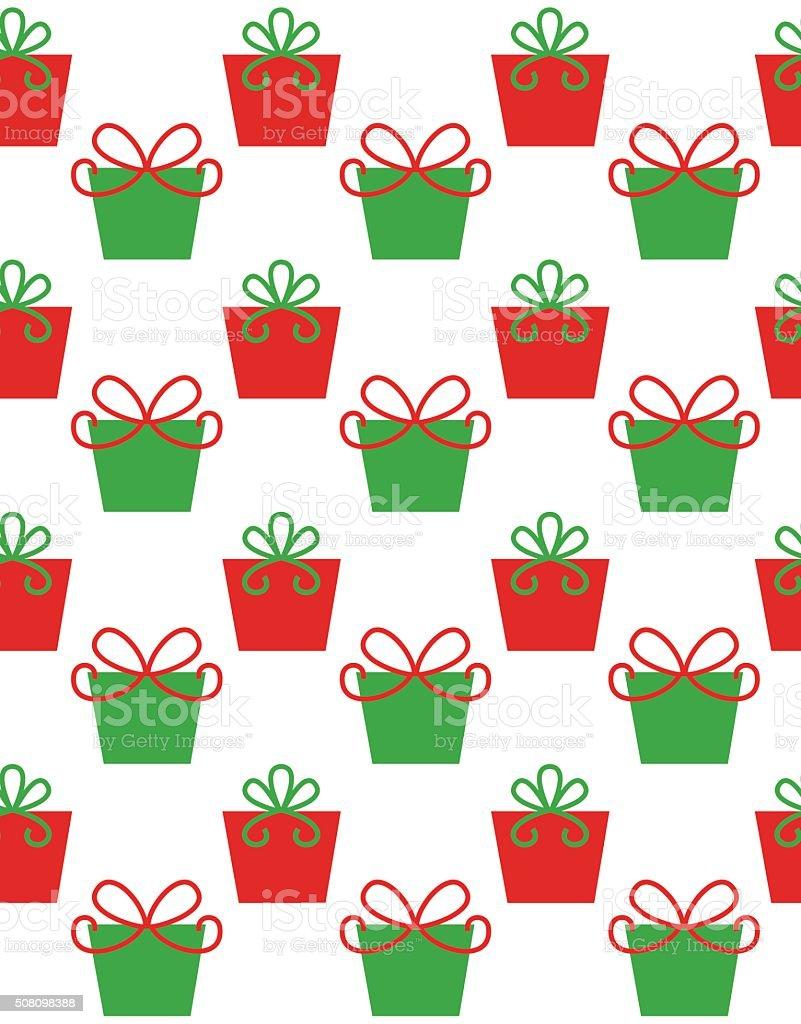 christmas pattern design vector art illustration