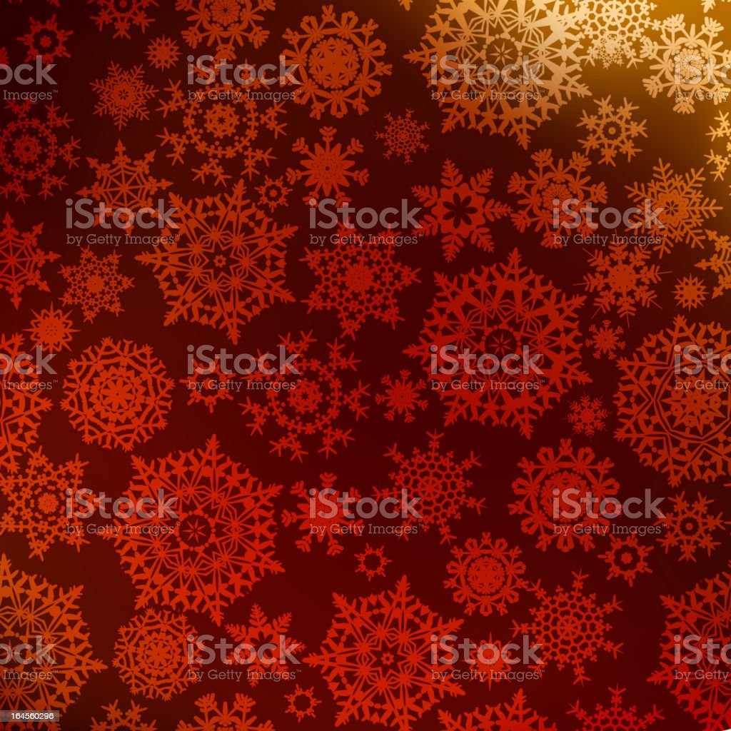 Christmas pattern snowflake background. EPS 8 royalty-free stock vector art