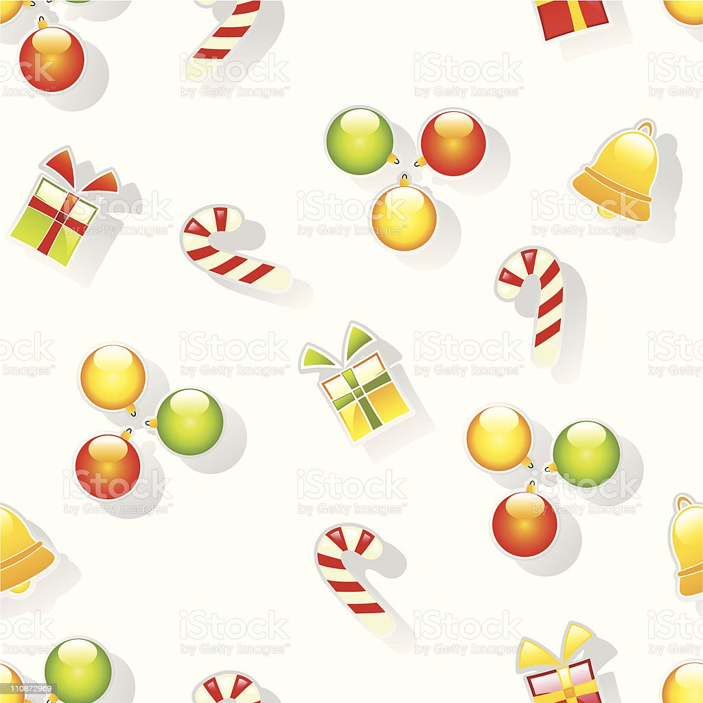 Christmas pattern royalty-free stock vector art