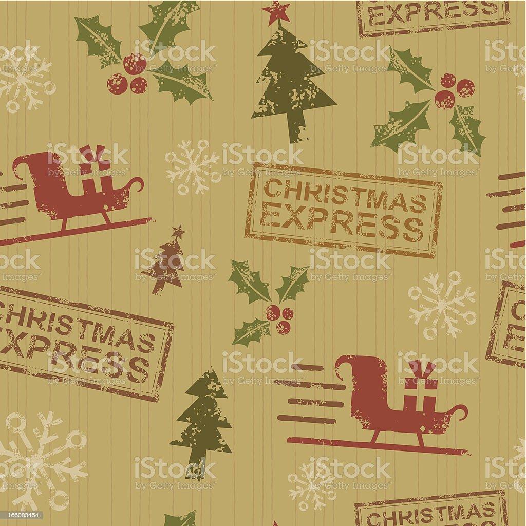 Christmas Pattern royalty-free stock vector art