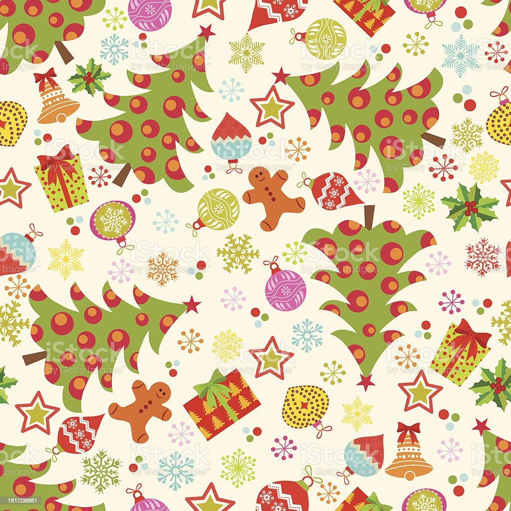 Christmas pattern . royalty-free stock vector art