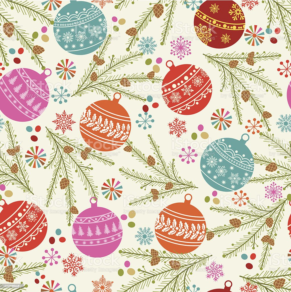 Christmas pattern . royalty-free stock vector art
