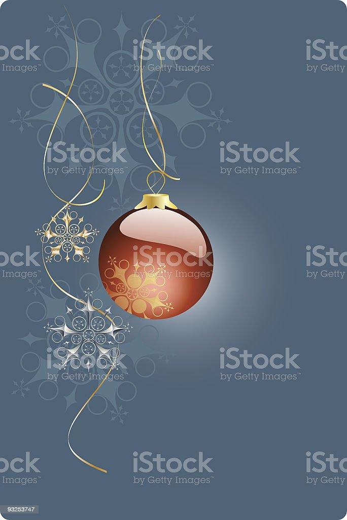 christmas post card royalty-free stock vector art