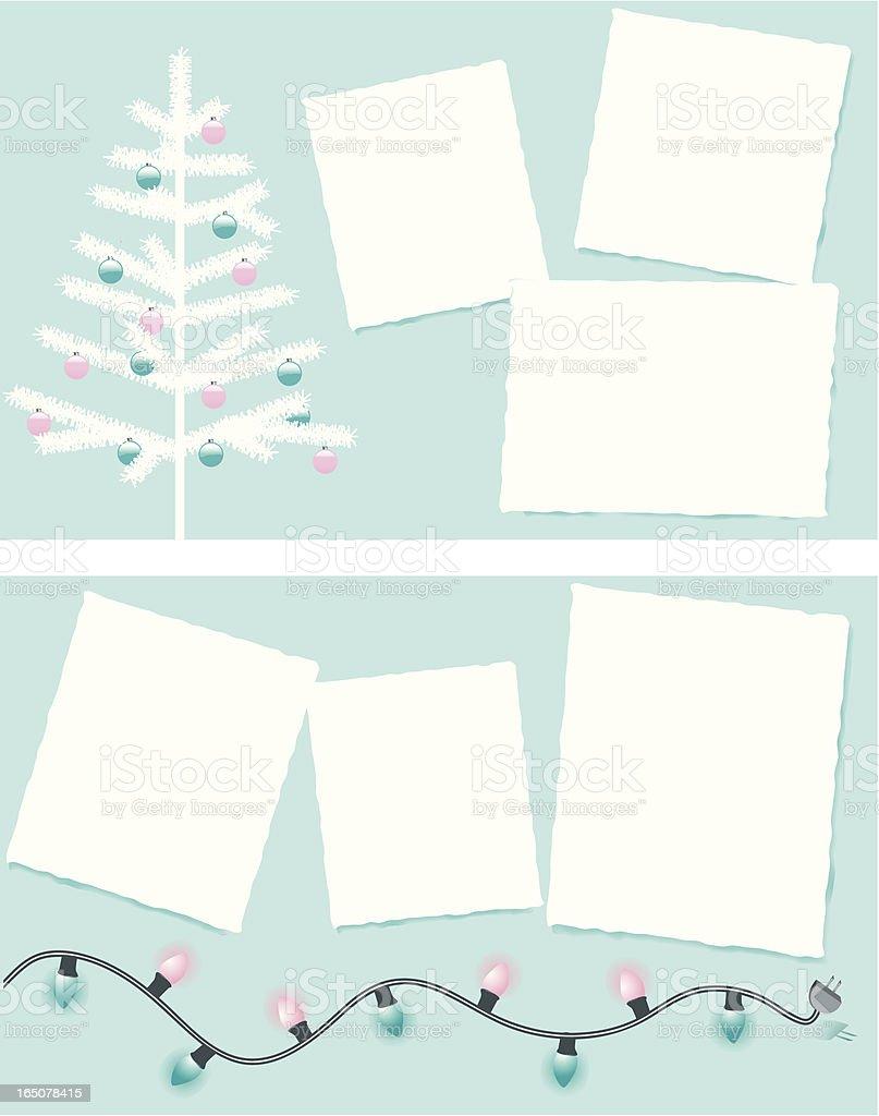 Christmas Postcards royalty-free stock vector art