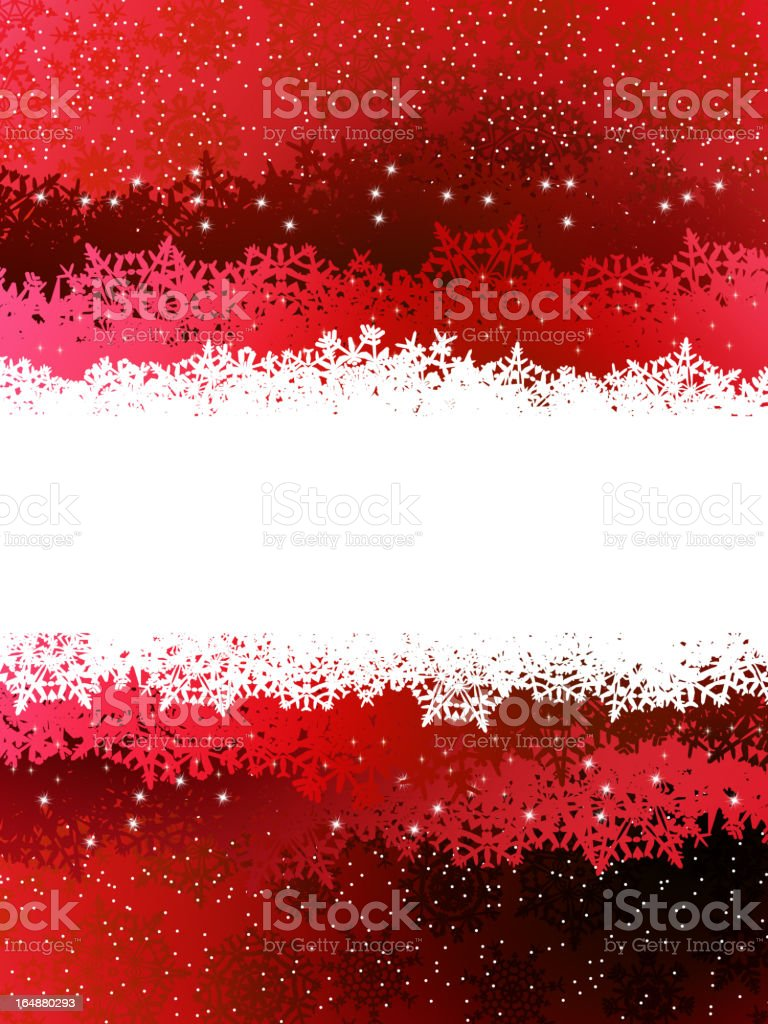 Christmas red background. EPS 8 royalty-free stock vector art